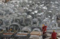 صادرات فولاد چین