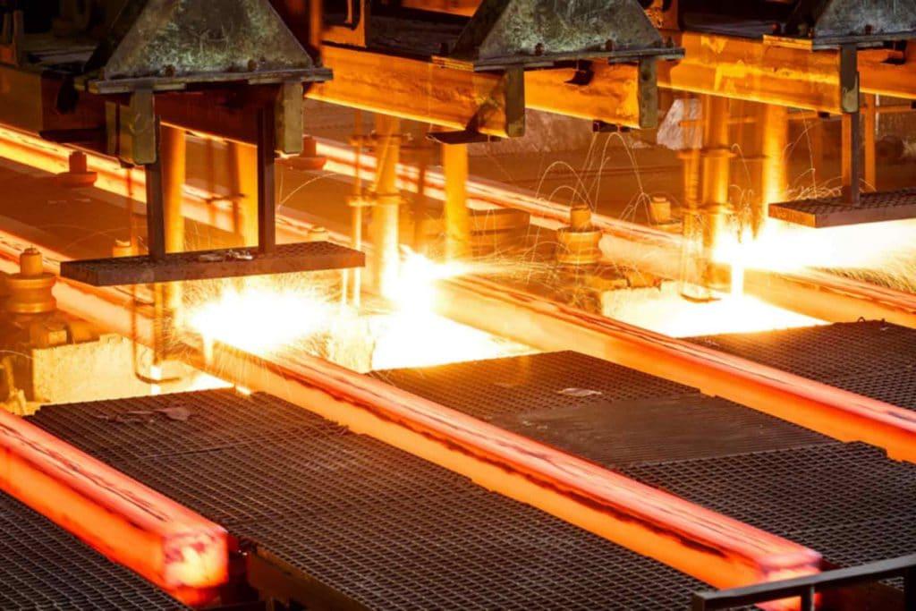 افت قیمت فولاد شانگهای