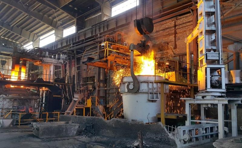 تبدیل آهن به فولاد آلیاژی