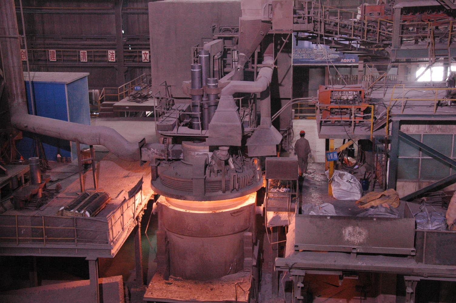 کوره تولید فولاد و جدا کردن ناخالصی ها